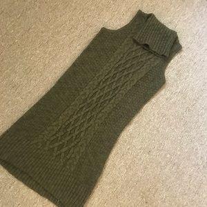American Eagle Hunter Green Sweater Dress/Tunic